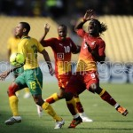 Ghana content with Bafana Bafana test for AFCON