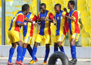 Hearts of Oak rout Danbort in friendly