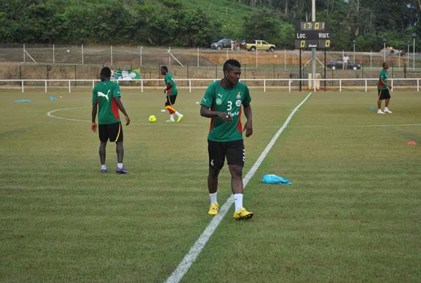 Injury forces Asamoah Gyan to abandon training