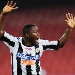 Kwadwo Asamoah signs off for Nations Cup with a goal for Udinese