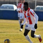 Video: Nat Asamoah scores for Red Star Belgrade on trial