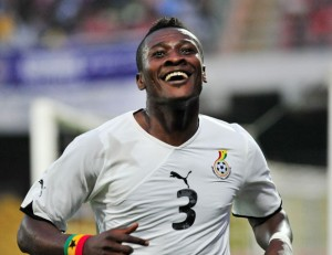 Video: Watch Asamoah Gyan's arrival an interview