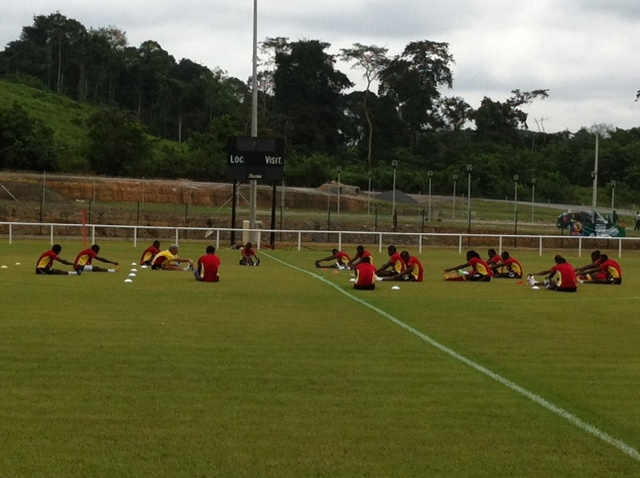 Black Stars begin preparations for Mali tie