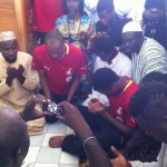 Video: Muslim Black Stars worship at Ngouoni mosque