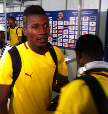 Ghana striker Asamoah Gyan admits to Guinea hell