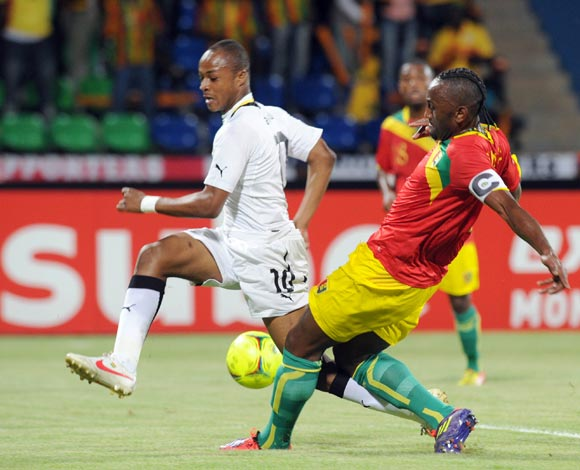 Andre Ayew claims shoulder injury not serious