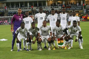 Listless Ghana draw 1-1 with 10-man Guinea but top Group D