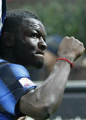 Muntari's Champions League delight with Milan move