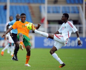 Ghana will meet Zambia  in the semifinals of the 2012 Africa Cup of Nations if they beat Tunisia in their quarter-final clash in Franceville on Sunday.
