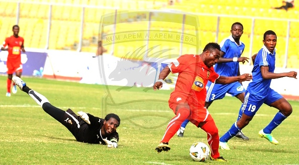 Kotoko striker Acheampong in massive Hearts taunt