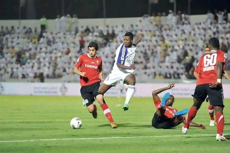 Ghana striker Asamoah Gyan will wait until the end of the season to decide whether to make a permanent move to Al Ain, but says he is enjoying his time at the Pro League club.