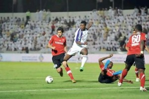 Video: Watch Asamoah Gyan scoring in UAE over the weekend