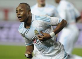 Marseille will be without their gifted forward Andre Ayew when they take on Dijon on Saturday in the French Ligue 1 because of injury.