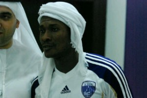 Asamoah Gyan has had a successful loan move at Al Ain but says he doesn't know his future