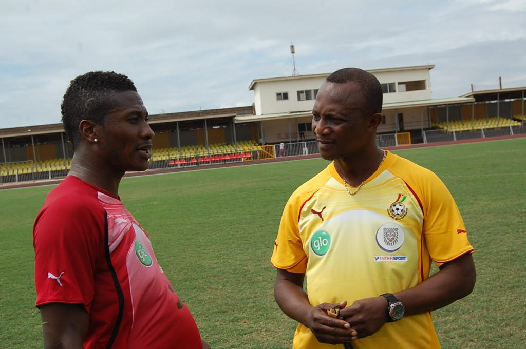 Kwesi Appiah tasked to win 2013 AFCON and reach World Cup semis
