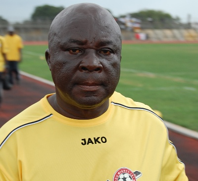 Coach E.K Afranie wants Black Stars job