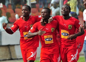 FT: Kotoko 0-0 Arsenal; Edubiase 2-0 Hearts