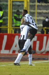 Video: Watch the two goals scored by Kwadwo Asamoah in Italy