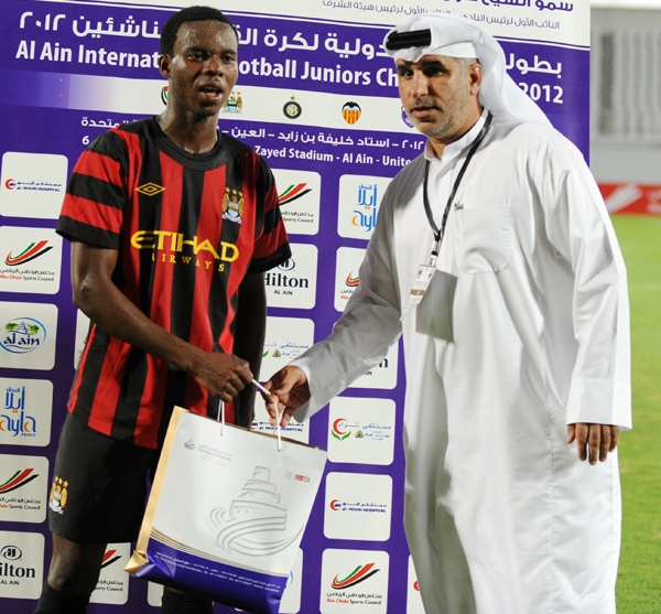 Ghanaian starlet Agyiri shining at Dubai tournament