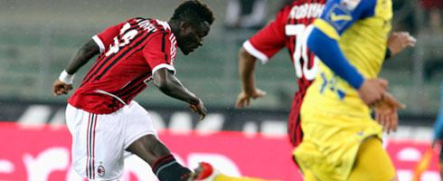 Muntari rocket too hot to handle- Chievo goalkeeper
