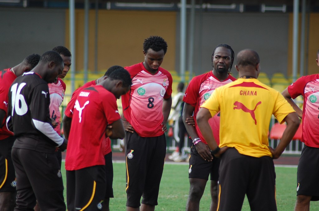 Black Stars begin training for World Cup qualifiers today