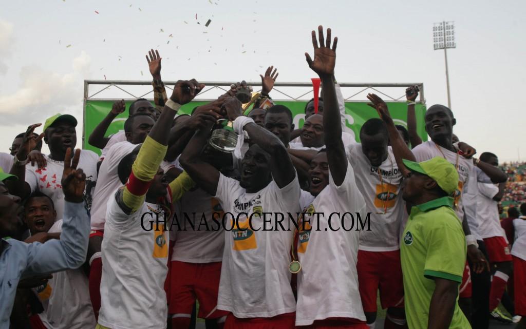 Ghana league champions Kotoko win coronation match