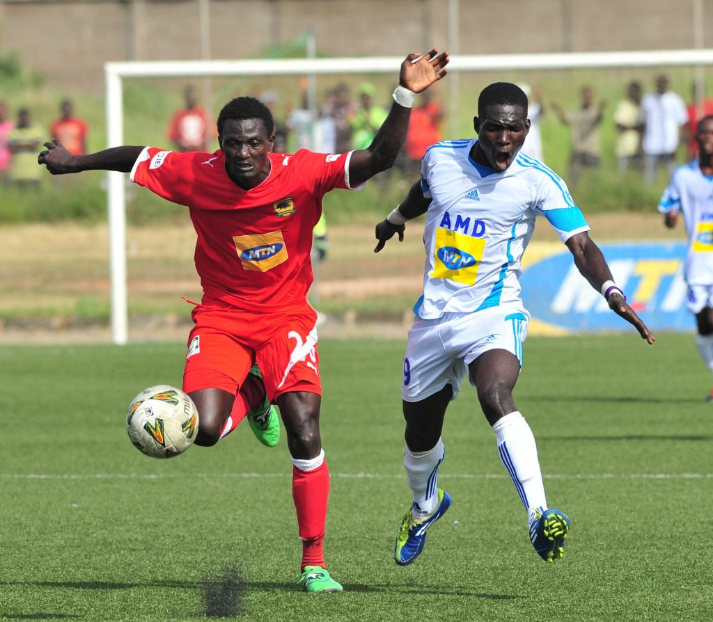 Kotoko suffer shock FA Cup exit to second-tier side Amidaus FC