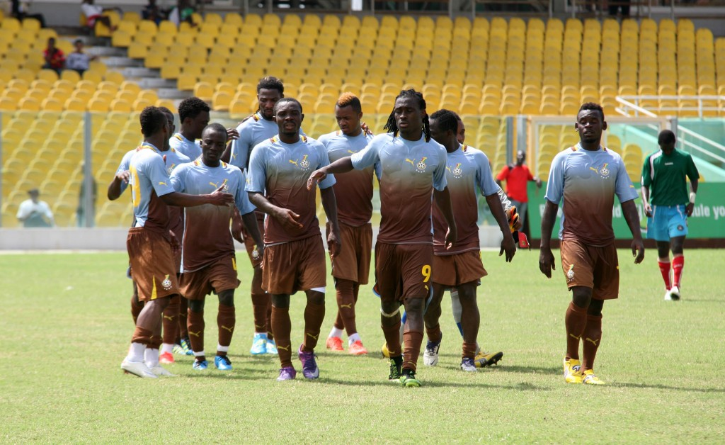 Black Stars to play State Envoy in friendly this afternoon.