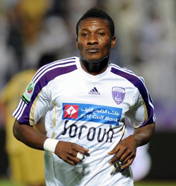 Asamoah Gyan hits brace for Al Ain in season's finale