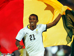Harrison Afful delighted with Ghana recall