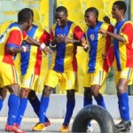 Hearts thump Wassaman, Dwarfs shock Arsenal