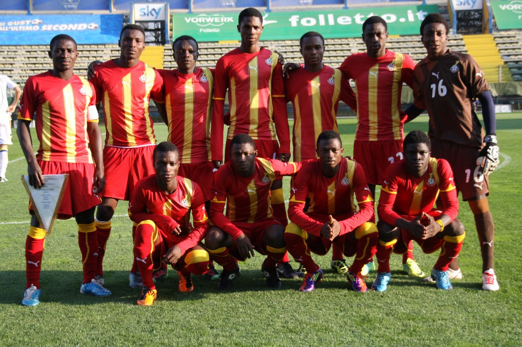 Ghana U20 to play Nigeria tonight in SA tournament
