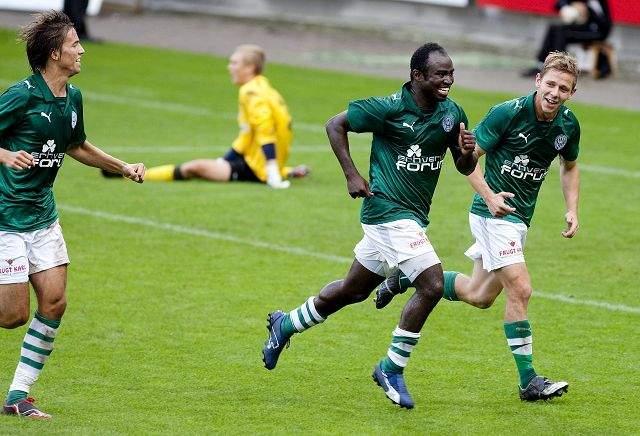 Pimpong nets brace in Danish second-tier league