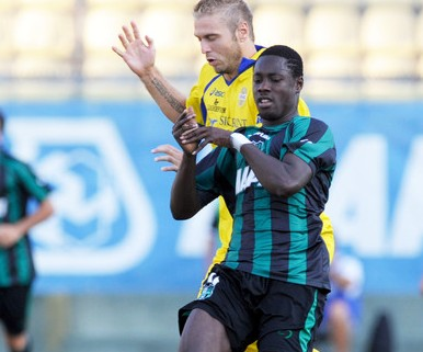 Boakye-Yiadom keeps Sassuolo in the hunt for Serie A promotion