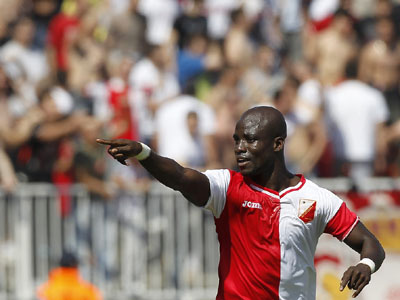 Ex-Ghana captain Stephen Appiah scored a stunning goal that helped Vojvodina to secure a Europa League place after a 2-1 over giants Red Star on Sunday.