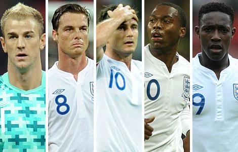 Looking Ahead: England vs France Euro 2012 Odds