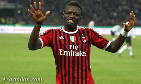 Muntari to sign two-year Milan deal