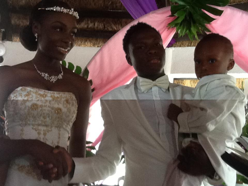Samuel Inkoom's wedding anniversary in pictures