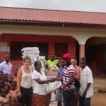 Ghana youth Sadick Adams donates to orphange