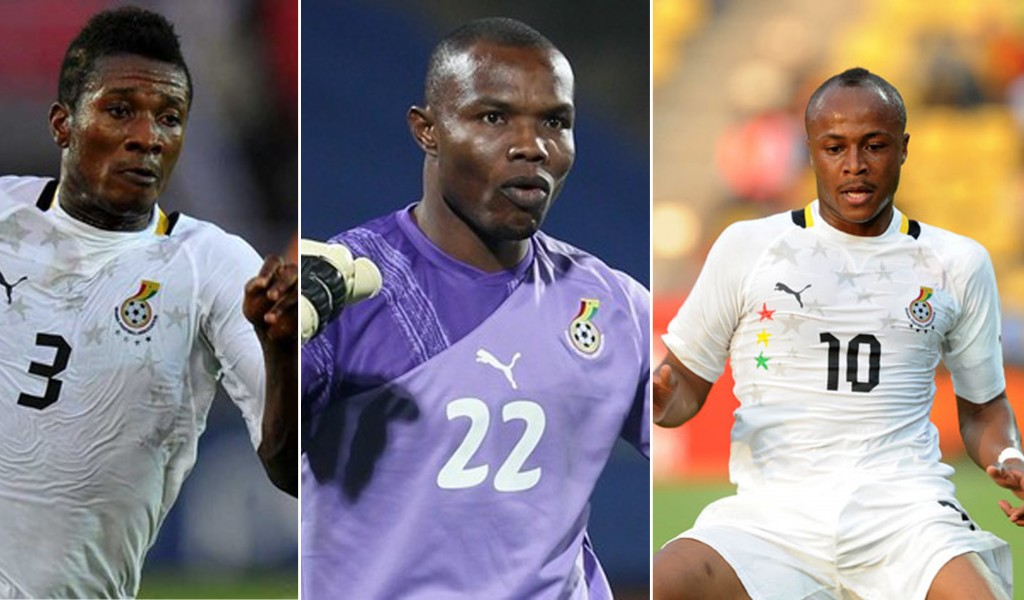 Ghana trio in tight race for Black Stars Player of the year