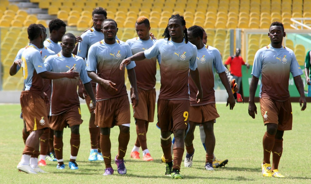 Ghana land in Zambia for World Cup qualifier