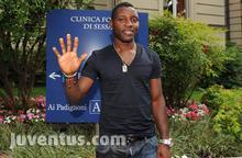 Ghana midfielder Kwadwo Asamoah undergoes Juventus medicals