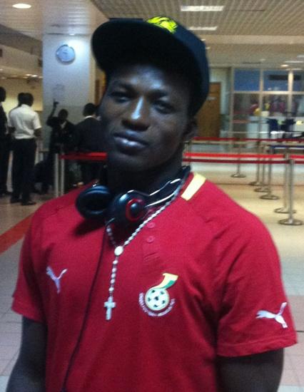 Ghana U-20 striker Fadi pledges to deliver goals against Uganda