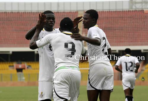 Ghana U20 beat Egypt to win three-nation tourney
