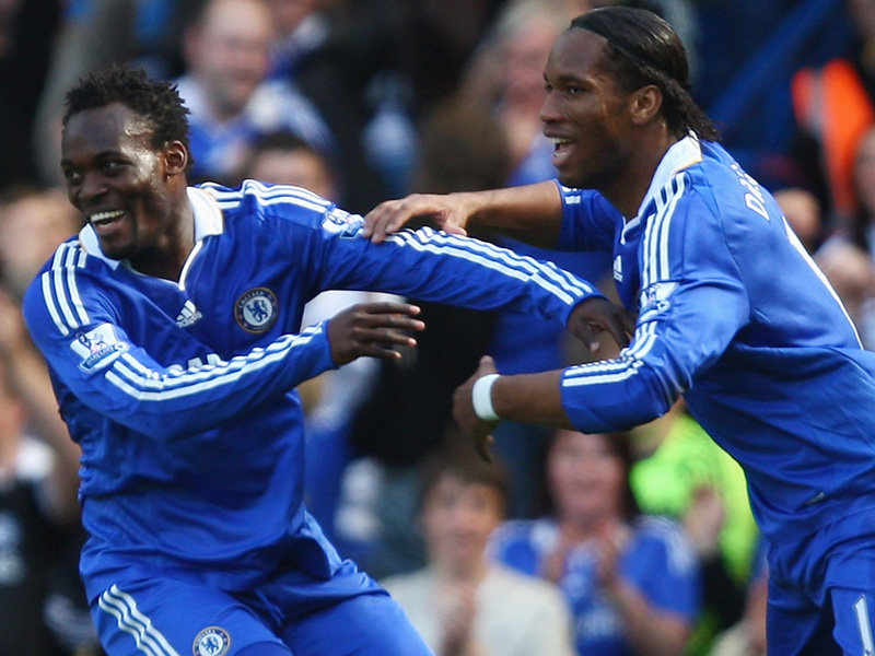 Image result for essien drogba