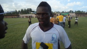 Striker Gilbert Fiamenyo issues come and get me plea to Hearts
