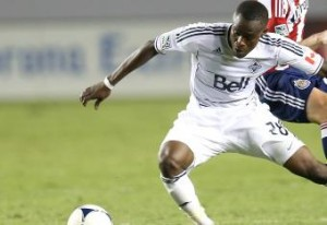Gershon Koffie on target for Vancouver in LA Galaxy draw