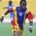 Asante Kotoko bid for Hearts striker Mahatma Otoo