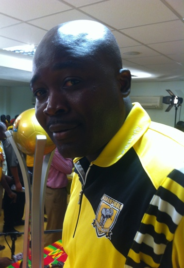 AshantiGold coach Acheampong blames referee for FA Cup loss
