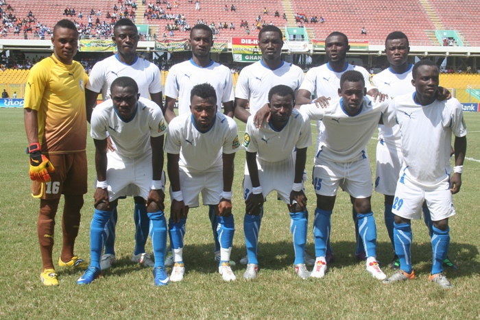 Berekum Chelsea named in top 10 African clubs for 2012